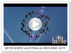 SKYDIVERS AUSTRALIAN RECORD 2011